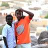Kids in front of Kassala