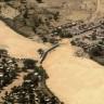 Bridge over dry river bed in Nyala / Darfur
